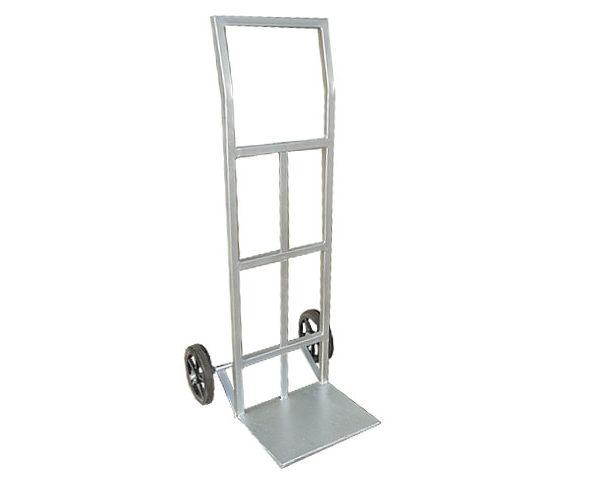 Carreta cano cuadrado con rueda de goma hasta 400KG