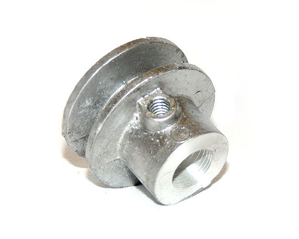 Polea de aluminio chica